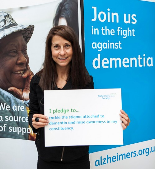 Alzheimer's Society pledge 3 Sep 2013