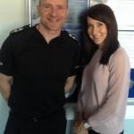 Liz meets Hinckley Road police commander Inspector Ant Dales