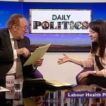 Liz appears on BBC Daily Politics