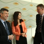 Liz meets Leicestershire's Police and Crime Commissioner and Chief Constable in Parliament