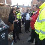 Liz organises 'patch walk' around Tudor Road