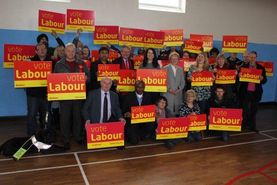 Labour team