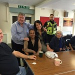 Coffee morning with residents in Braunstone Frith