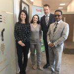 Liz opens Fischer Energy's Head Offices