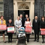 Liz leads campaigners to deliver 130,000 signature petition to Downing Street